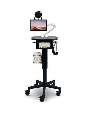 Telehealth Triage Tablet Cart