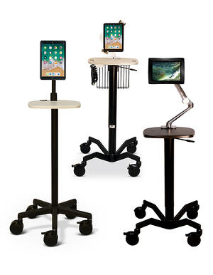 iPad Tablet Carts for Healthcare Facilities