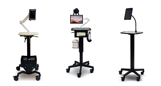 Healthcare Tablet Carts
